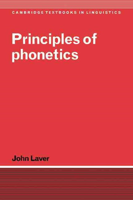 Principles of Phonetics