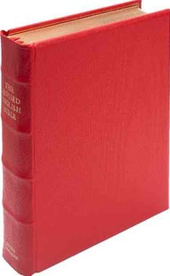 REB Lectern Bible, Red Imitation Leather Over Boards RE932:TB by  (9780521507417) - Leather Bound - Religion & Spirituality Christianity