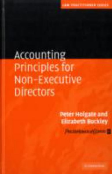 Accounting Principles for Non-Executive Directors