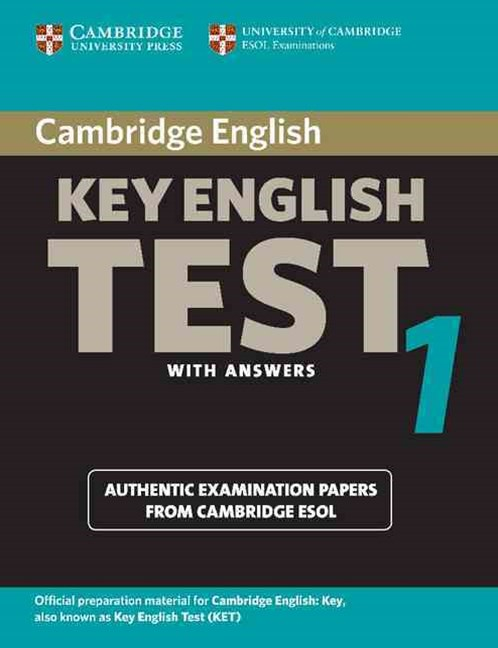 Cambridge Key English Test 1 Student's Book with Answers