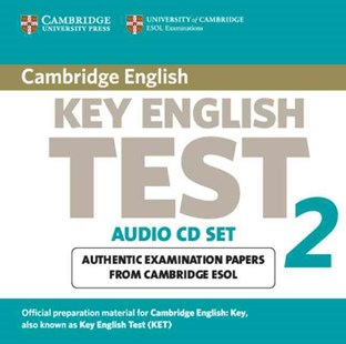 Cambridge Key English Test 2 Audio CD Set (2 CDs) - Language English