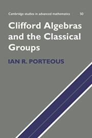 Clifford Algebras and the Classical Groups