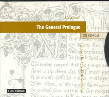 Chaucer: The General Prologue on CD-ROM - Poetry & Drama Poetry