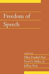 Freedom of Speech: Volume 21, Part 2 by Ellen Frankel Paul, Fred D. Miller, Jeffrey Paul (9780521603751) - PaperBack - Philosophy Modern