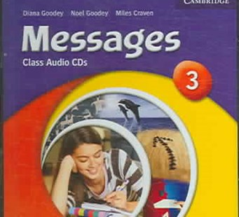 Messages 3 Class CDs - Language English