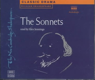 The Sonnets 3 Audio CD Set - Poetry & Drama Plays