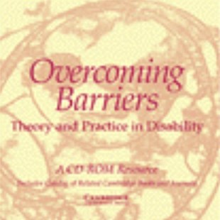 Overcoming Barriers: Theory and Practice in Disability CD-ROM locked - Reference Medicine
