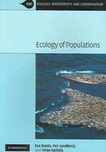 Ecology of Populations by Esa Ranta, Per Lundberg, Veijo Kaitala (9780521670333) - PaperBack - Science & Technology Biology