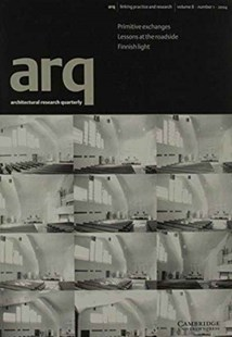 arq: Architectural Research Quarterly: Volume 8, Part 1 by Richard Weston, Peter Carolin, Thomas Fisher (9780521672528) - PaperBack - Art & Architecture Architecture