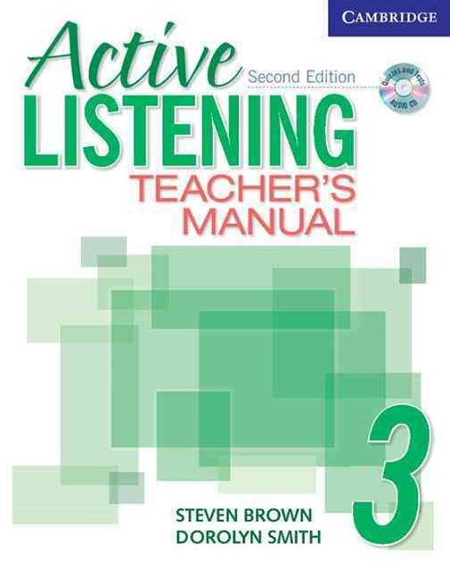 Active Listening 3 Teacher's Manual with Audio CD
