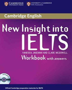 New Insight into IELTS Workbook Pack by Vanessa Jakeman, Clare McDowell (9780521680967) - Multiple-item retail product - Education IELT & ESL