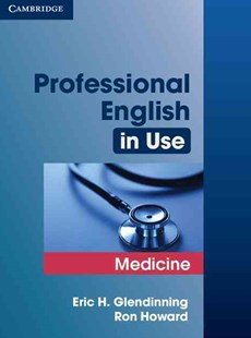 Professional English in Use Medicine by Eric Glendinning, Ron Howard (9780521682015) - PaperBack - Education IELT & ESL