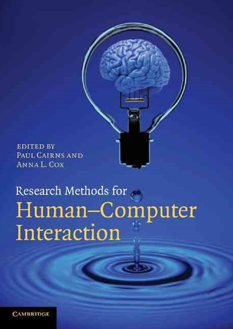 Research Methods for Human-Computer Interaction