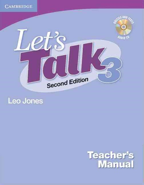 Let's Talk Level 3 Teacher's Manual with Audio CD