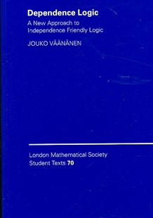 Dependence Logic by Jouko Väänänen, Jouko Väänänen (9780521700153) - PaperBack - Science & Technology Mathematics