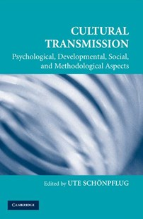 Cultural Transmission by Ute Schönpflug (9780521706575) - PaperBack - Education Teaching Guides