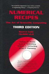 Numerical Recipes Source Code CD-ROM 3rd Edition by William H. Press, Saul A. Teukolsky, William T. Vetterling, Brian P. Flannery (9780521706858) - HardCover - Science & Technology Engineering