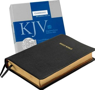 KJV Concord Reference Bible, Black Edge-Lined Goatskin Leather, KJ566:XE by  (9780521707961) - Leather Bound - Religion & Spirituality Christianity
