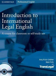 Introduction to International Legal English Student