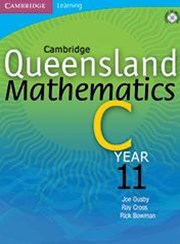 Cambridge Queensland Mathematics C Year 11 Solution Supplement CD-ROM