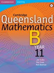 Cambridge Queensland Mathematics B Year 11 Teacher CD-Rom