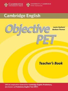 Objective PET Teacher
