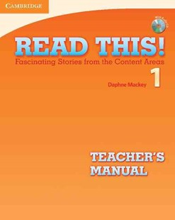 Read This! Level 1 Teacher's Manual with Audio CD by Daphne Mackey, Laurie Blass, Deborah Gordon (9780521747882) - Multiple-item retail product - Education IELT & ESL