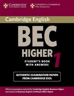 Cambridge BEC Higher 1 by University of Cambridge Local Examinations Syndicate (9780521752893) - PaperBack - Business & Finance Business Communication