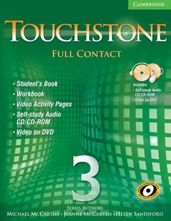 Touchstone Level 3 Full Contact (with NTSC DVD) by Michael McCarthy, Jeanne McCarten, Helen Sandiford (9780521757676) - Multiple-item retail product - Education IELT & ESL