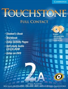 Touchstone 2A Full Contact (with NTSC DVD) by Michael McCarthy, Jeanne McCarten, Helen Sandiford (9780521757904) - Multiple-item retail product - Education IELT & ESL