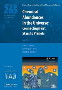 Chemical Abundances in the Universe (IAU S265) by Katia Cunha, Monique Spite, Beatriz Barbuy (9780521764957) - HardCover - Science & Technology Astronomy