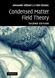 Condensed Matter Field Theory by Alexander Altland, Ben D. Simons (9780521769754) - HardCover - Science & Technology Physics