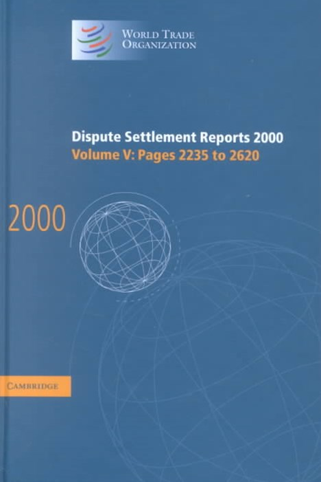 Dispute Settlement Reports 2000: Volume 5, Pages 2235-2620