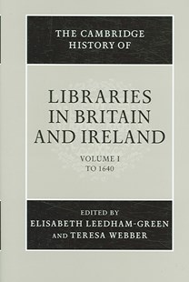 The Cambridge History of Libraries in Britain and Ireland 3 Volume Hardback Set by Peter Hoare (9780521858083) - Multiple-item retail product - Business & Finance Organisation & Operations
