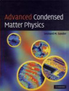 Advanced Condensed Matter Physics by Leonard M. Sander (9780521872904) - HardCover - Science & Technology Chemistry