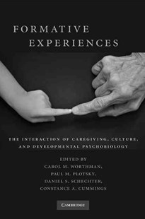 Formative Experiences by Carol M. Worthman, Paul M. Plotsky, Daniel S. Schechter, Constance A. Cummings (9780521895033) - HardCover - Family & Relationships Parenting