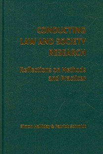 Conducting Law and Society Research by Simon Halliday, Patrick Schmidt (9780521895910) - HardCover - Reference Law