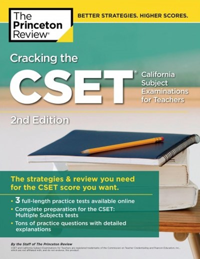 Cracking the Cset - California Subject Examinations for Teachers
