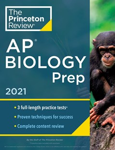 Princeton Review AP Biology Prep, 2021 by The Princeton Review (9780525569435) - PaperBack - Education Trade Guides