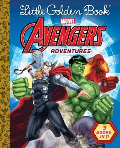 Avengers Little Golden Book Favorites