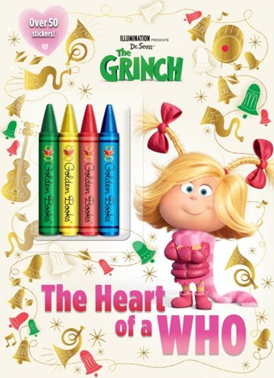 Illumination Presents Dr. Seuss' the Grinch Chunky Crayon