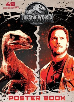 Jurassic World - Fallen Kingdom Coloring & Activity Poster Book