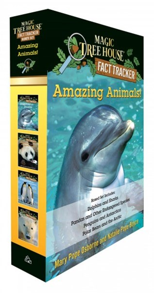 Amazing Animals! Magic Tree House Fact Tracker Set