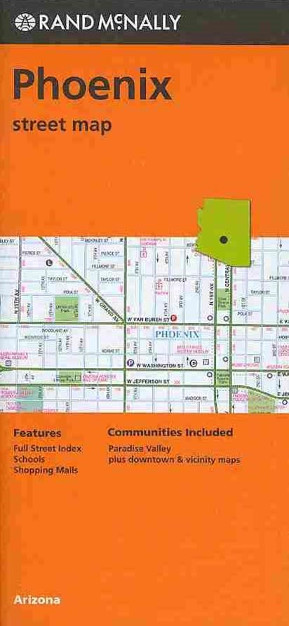 Rand McNally Phoenix Street Map