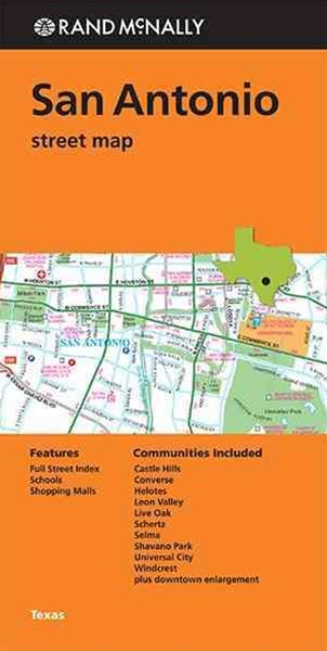 Rand McNally San Antonio Street Map