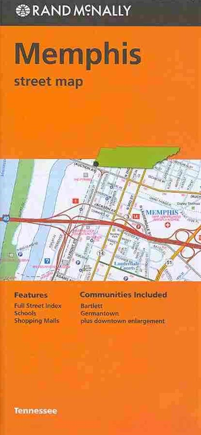 Rand McNally Memphis Street Map