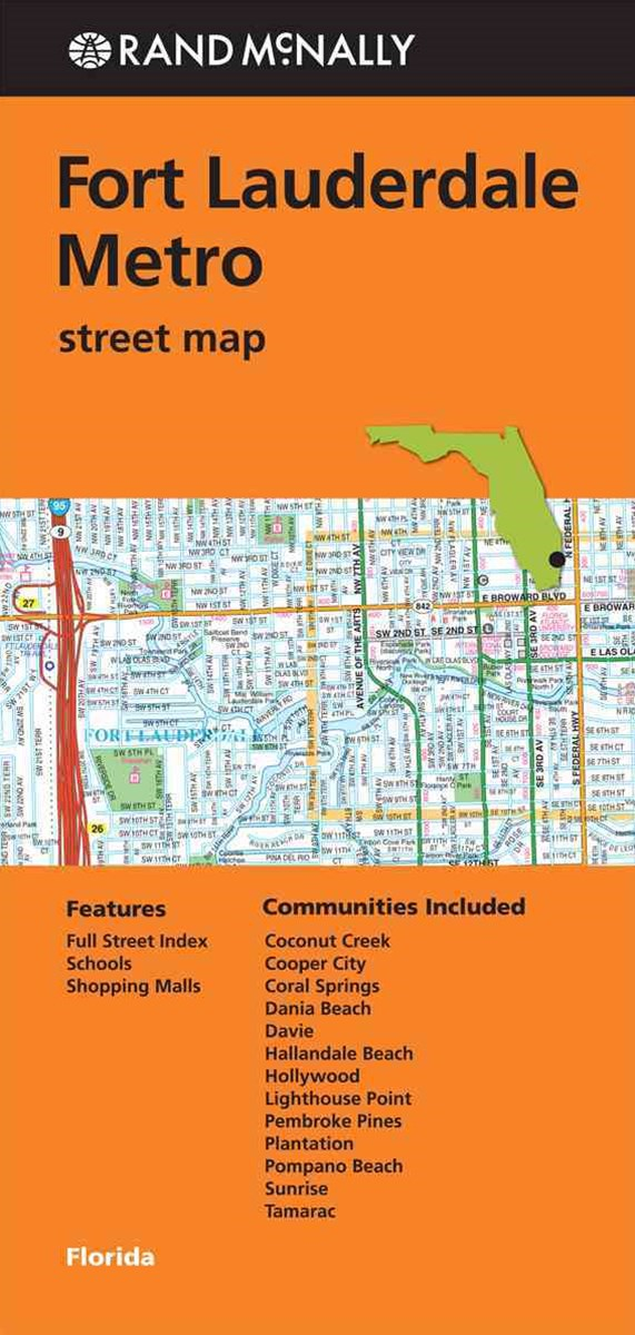 Rand McNally Fort Lauderdale Street Map