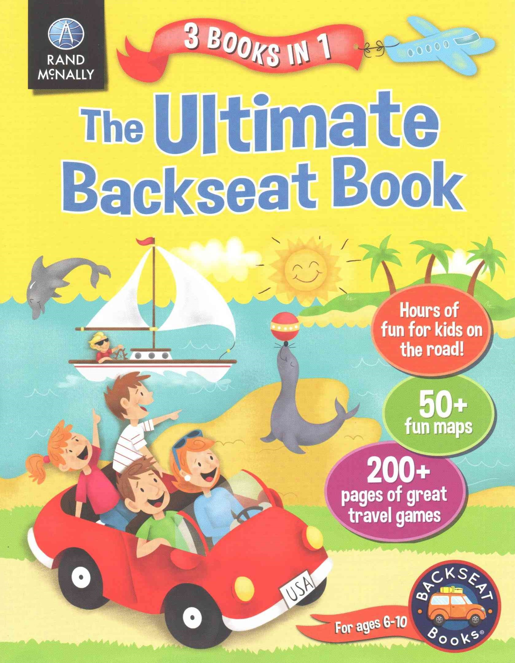 Ultimate Back Seat Book 3 in 1 PB
