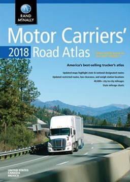 Rand Mcnally 2018 Motor Carriers' Road Atlas