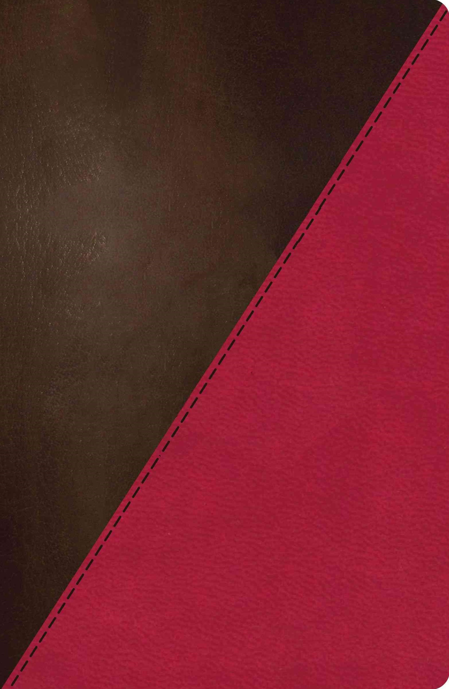 NKJV Study Bible, Imitation Leather, Pink/Brown, Indexed